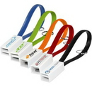 Custom USB Charging Cable (Full Color Digital), 5 1/2