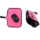 Custom Foldable Travel Mouse Pad Pouch, 7.8