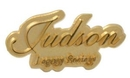 Custom Polished & Sandblasted Jewelry Cast Lapel Pin (3/4