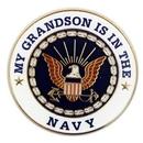 Custom Military - U.S. Navy Grandson, 1
