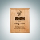 Custom Genuine Red Alder Wood Plaque - Small, 9
