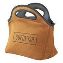 Custom Gran Klutch Suede-ish Neoprene Lunch Bag, 11.5