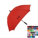 Custom Solid Color Square Golf Umbrella, 54