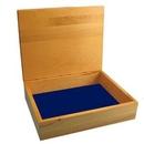 Custom Maple Hinged Lid Box