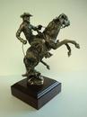 Custom Bronco Buster II Sculpture (10