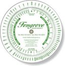 Custom .020 White Plastic Profit Markup Wheel Calculator (6