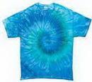 Custom Blue Jerry Tye Dye T-shirt