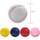 Custom Baseball Shape Stress Reliever, 2 1/2