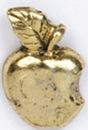 Custom Bitten Apple Stock Cast Pin