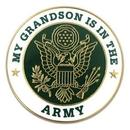 Custom Military - U.S. Army Grandson Pin, 1
