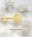 Custom Series 3600 Economical Sandblast Brass Lapel Pin (Up to 1 1/4