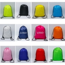 Custom 210D Polyester Strengthening Drawstring Bag, 13 2/5