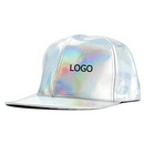 Custom Unisex Laser Hologram Hip Hop Adjustable Cap, 23.6