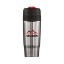 Custom The Soho Double Walled Tumbler - 18oz Red, 3.25
