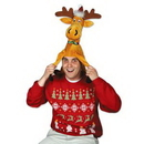 Custom Plush Christmas Moose Hat