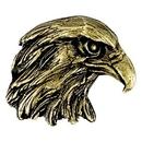 Blank Eagle Mascot Fully Modeled 3 Dimensional Pin