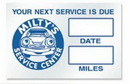 Custom Static Cling Service Decals