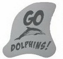Custom Dolphin Fin Foam Hand Mitt