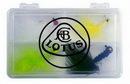 Custom JIG4 Tackle Box Kit w/ 4 Jig Lures