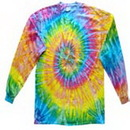Custom Saturn Longsleeve Tye Dye Shirts