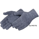 Gray Cotton/ Polyester Blend Work Gloves