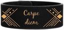 Custom BLACK/GOLD Laserable Leatherette Cuff Bracelet, 9 1/2