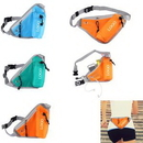 Custom Triangle Waist Bag with Water Bottle Holder, 8.27