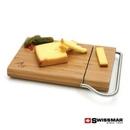 Custom Swissmar® Cutting Board With Slicer - Bamboo