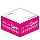 Custom Ad Cubes Memo Note Pad W/ 2 Colors & 1 Side (3.875