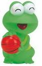 Custom Rubber Basketball Frog