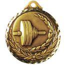 Custom Stock Medallions (Weightlifting) 2 3/4