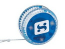 Custom Blue Light Up Yo-Yo (2 1/4