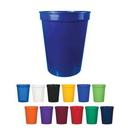 Custom 16oz. Plastic Stadium Cup, 3 1/8