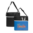 Custom Large 12 Can Cooler Bag, 10.5