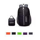 Custom Light Weight Foldable Backpack, 11