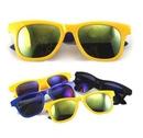 Custom Colorful Fashionable Sunglasses w/Mirrored Lens, 5 1/2