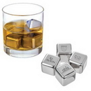 Custom Stainless Steel Chilling Whiskey Ice Cube, 1