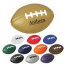 Custom Football Shape Stress Reliever, 3 1/2