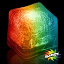 Blank Rainbow Lited Ice Cubes, 1 3/8