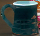 Custom Entrepreneur Coffee Mug. 10 oz. Minimum of 48. Teal., 4