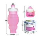 Custom Sports Collapsible Bottle, 3 1/16