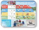 Custom Flexible Cutting Board on FDA approved .045 clear plastic (9.75