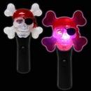 Blank LED Pirate Skull Spinner Wand