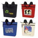 Custom Promotional Zip Tote Bag 18