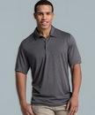 Custom Men's Heathered Polo Shirt