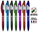 Custom Easton 4 in 1 stylus twist pen