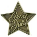 Blank Great Job Lapel Pin, 1