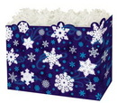 Blank Winter Wonderland Small Basket Box, 6.75