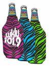 Custom Zebra Bottle Insulator