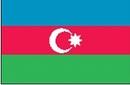 Custom Nylon Azerbaijan Indoor/ Outdoor Flag (2'x3')
